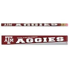 Texas A&M University Pencil 6-pack