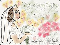 A beautiful princess- Jenny Stjärnstoff Linderoth  stjarnstoff.wordpress.com