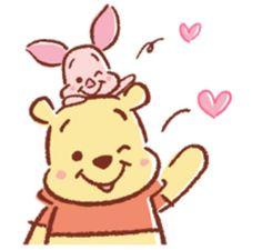 Piglet et Pooh | mary | Pinterest | Piglets and Pooh bear