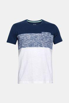 Camiseta print posicional tropical   Desenho de camiseta