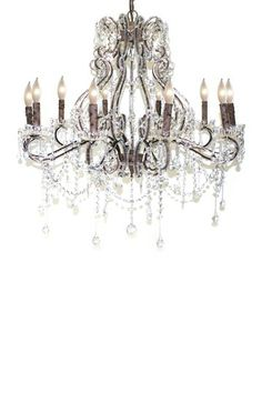 PANGEA/home  Isabella Rust 10-Bulb chandelier  This has to be one of my favorites