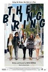 CINE(EDU)-889. The bling ring. Dir. Sofia Coppola. Drama. EEUU, 2013. No mundo de Los Ángeles, a fama e o glamour son o obxectivo principal. Sobre todo para unha cuadrilla de adolescentes que protagonizaron unha sorprendente onda de crimes en Hollywood. Baseada en feitos reais, estes 5 amigos vixiaban aos famosos a través de internet e entraban a roubar nas súas casas.  http://kmelot.biblioteca.udc.es/record=b1535124~S1*gag http://www.filmaffinity.com/es/film386363.html