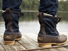 LLBean duck boots