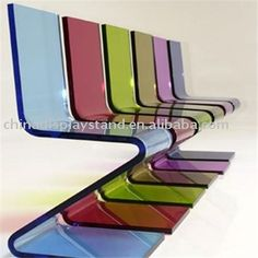 acrylic z chair  colored acrylic chairs