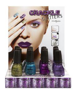 China Glaze® Crackle Glitters