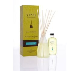 Trapp 8 oz Reed Diffuser Kit No. 13 Bob's Flower Shoppe by Trapp. Save 10 Off!. $45.00. Beautifully boxed and ready for gift giving.. 8 ounces diffuser fluid. 2 sets of 12 reeds. Elegant frosted glass vase. No. 13 Bob's Flower Shoppe - 7oz. Poured Candle: Imagine walking into an open air flower market you are enveloped by the fragrance of all the flowers, freshly cut green stems, and water droplets on each petal.. Lasts approximately 3 months