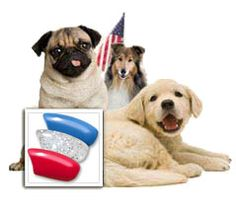 Check out our Stars & Stripes exclusive color combination. Soft Paws are only $18.95