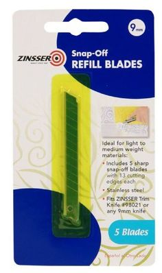 Zinsser 98022 SnapOff Refill Blades 9mm Model 98022 *** Click image to review more details.
