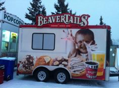 The Manitoba trailer is ready for you Festival du Voyageur!