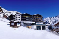 Luxury, snow and cordial hospitality at the Hotel Edelweiss in Hochsölden in Austria Snow Fun, Austria Travel, Snow And Ice, Cordial, Beautiful Hotels, At The Hotel, Winter Holidays, Hospitality, Castles