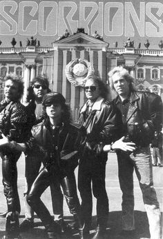 """The Scorpions are a rock band from Hannover, Germany formed in 1965 by guitarist Rudolf Schenker, who is the band's only constant member (although Klaus Meine has been lead singer for all their studio albums). They are known for their 1980s rock anthem """"Rock You Like a Hurricane"""" and many singles, such as """"No One Like You"""", """"Send Me an Angel"""", """"Still Loving You"""", and """"Wind of Change""""."""