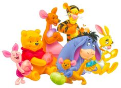 Sometimes, I'm Eeyore. Sometimes, if I'm lucky I find my Tigger bounce. Sometimes, I'm just P..P...Piglet. Love them all.