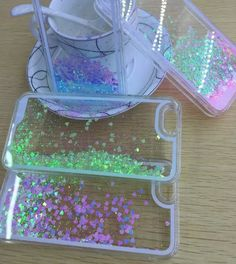 Want to know how to make a liquid glitter phone case for under £3