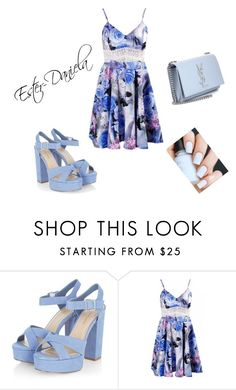 """completo 25"" by ester-daniela on Polyvore featuring moda e Yves Saint Laurent"