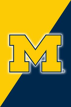Get a Set of 12 Officially NCAA Licensed Michigan Wolverines iPhone Wallpapers sized for any model of iPhone with your Team's Exact Digital Logos and Team Colors  http://2thumbzmac.com/teamPagesWallpapers2Z/Michigan_Wolverinesz.htm