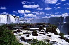 Conjunto de quedas Catarata do Iguaçu