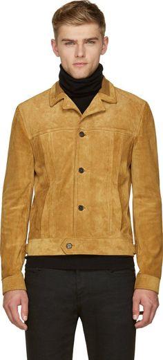 8da07276498 Saint Laurent for Men Collection. Suede LeatherLeather JacketSuede ...