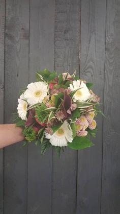 Boeket Roos Wit | Bouquet Rose Blanc