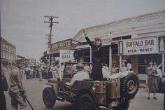 Lucille Ball on a War Bond Tour