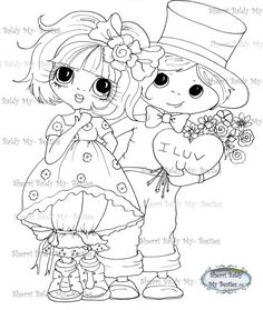 INSTANT DOWNLOAD Digital Digi Stamps Big Eye Big by SherriBaldy, $4.00