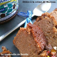 Délice à la crème de Marrons : remplacer le beurre par de la purée de noisettes ou d'amandes !
