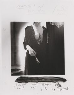I could no longer play, providence, rhode island, 1977 / francesca woodman