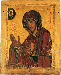 "Opus 28 ""Μήτηρ Θεοῦ"": Trio for clarinet in B, cello and piano (=""Mother of God""). Byzantine Icons, Byzantine Art, Religious Icons, Religious Art, Orthodox Icons, Russian Art, Ancient Artifacts, Sacred Art, Color Of Life"