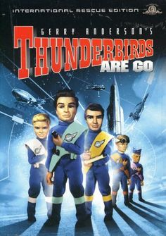 Thunderbirds Are GO (1966), directed by David Lane, produced by Sylvia Anderson.