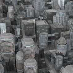 Realistic Science City Model in Cityscapes 3d Architecture, Cityscapes, Science, Model, Scale Model, Models, Template, Pattern