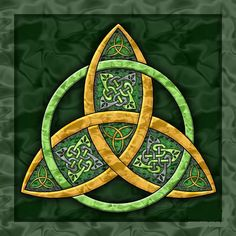 The Triquetra or the Trinity Knot - Celtic Symbols