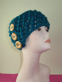 SuperChunky Simple Lace 3Button Headband