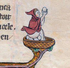 eggman  Le livre de Lancelot du Lac & other Arthurian Romances, Northern France ca. 1275-1300  Beinecke Rare Book & Manuscript Library, MS 229, fol. 31r