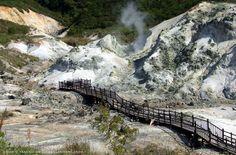 Japan: Hell Valley I  #hokkaido #japan