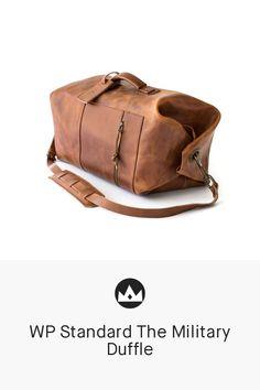 8668895374c WP Standard The Military Duffle  travel  luggage  bag  brown  duffle