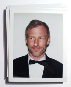 ruthwilson:  Candid polaroid of Spike Jonze backstage at the 71st Annual Golden Globe Awards
