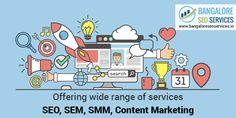 Offering wide range of services SEO, SEM, SMM, Content Writing  For more details visit: http://www.bangaloreseoservices.in/