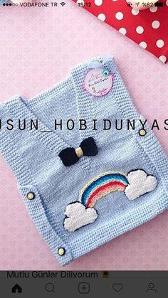 Baby Knitting Patterns, Knitting Designs, Piercings Ideas, Crochet For Kids, Knit Crochet, Zapatos Nike Air, Baby Kids, Baby Boy, Moda Emo