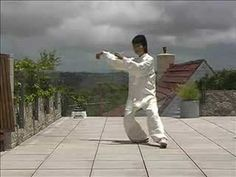 """The most popular Tai Chi form, Beijing standardised (simplified) 24 Forms. The performance is by Angela Hsu Cantafio, a gold and silver medal national and international champion. The form is demonstrated in side view. Angela's masterful play of Tai Chi is filmed in Sydney, Australia. Camera and editing by Dan Stefan, 2008."""