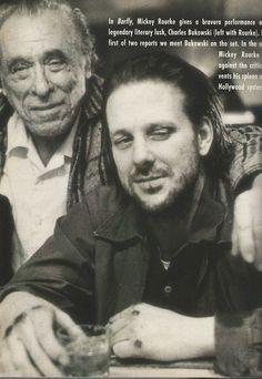 The Face Magazine The Seventies Cover Vintage 1988 Bukowski Mickey Rourke | eBay