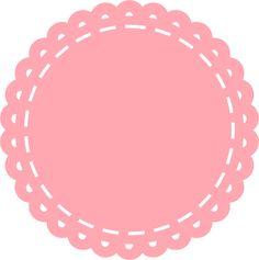 Tag vetor rosa bebe Flower Circle, Flower Frame, Logo Slime, Tag Templates, Wallpaper Iphone Disney, Flower Clipart, Logo Sticker, Vintage Crafts, Paper Toys