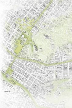 Segundo Lugar en concurso nacional UVA Orfelinato / Medellín, Colombia,Planta de localización