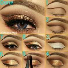 A neutral for day or night! Try these Younique pigments for this look: Curious, Gorgeous and Confident. https://www.youniqueproducts.com/EyeEnVe/