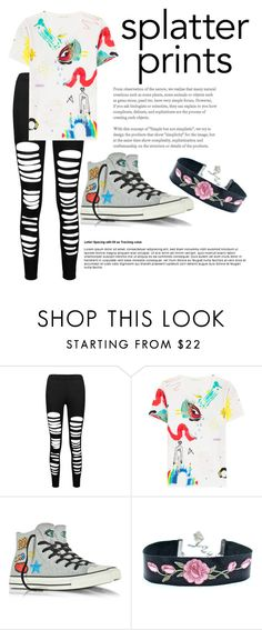 """""""Untitled #62"""" by angelina-clancy ❤ liked on Polyvore featuring Marc Jacobs and Converse"""