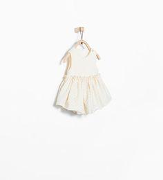ZARA - MINI - Polka dot print dress