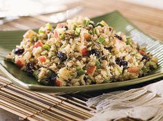 Salada de Arroz Integral - Veja mais em: http://www.cybercook.com.br/receita-de-salada-de-arroz-integral.html?codigo=17334