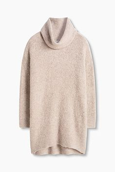 EDC / Soft bouclé polo neck with wool