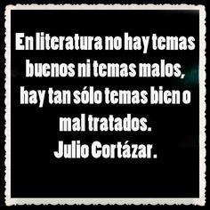 Los temas de la literatura por Cortázar