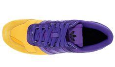 adidas zx700 yellow purple 4 adidas Originals ZX 700   Blaze Purple   Yellow Ray