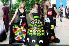 Tetris... Space Invaders... .&... Pac-Man | Seriously... I'd... =NEVER= wear them !!! ..
