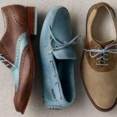 Mocs with pop colors Sock Shoes, Men's Shoes, Dress Shoes, Shoes Men, Boy Fashion, Fashion Shoes, Mens Fashion, Still Photography, Color Pop